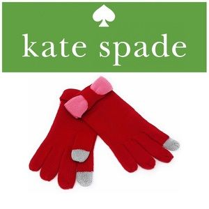 ♠️Kate Spade Tech Friendly Colorblock Gloves